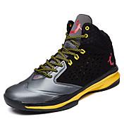 Hombre-Tacón Plano-Confort-Zapatillas de Atletismo-Informal-PU-Amarillo Negro Rojo Naranja