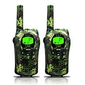 ejército de walkie talkies niños y 22 canales (hasta hasta 5 km en áreas abiertas) armygreen walkie talkies para los niños (1 par) t668