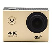 Action Camera / Sports Camera 12MP 1920 x 1080 WIFI 防水 広角 多機能 ワイヤレス 240fps 60fpsの 120FPS 30fps 2 CMOS 32 GB バーストモード タイムラプス 30 M軍隊 Others