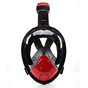シュノーケルマスク ダイビングマスク 曇り止め 180度 液漏れ防止 フルフェイスマスク ダイビング&シュノーケリング ネオプレン のために 子供用 成人 男女兼用