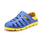 Hombre Zapatos PU Verano Zapatos agujero Sandalias Agua Para Deportivo Casual Negro Gris Marrón Azul