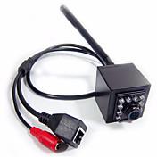1080pミニipカメラwifi 10個940nm ledナイトビジョン1920x1080p hd無線LAN屋内無線