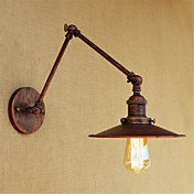 Rústico / Campestre / Campestre / Retro Luces del brazo oscilante Metal Luz de pared 110-120V / 220-240V 40W