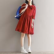 記号/ 2017 825木/劇場の弓の綿のドレススカートボトミング