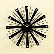 moda creativa de metal& relojes de pared mudos de madera relojes de pared bakeware