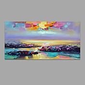 手描きの 風景 横長,クラシック Modern 1枚 キャンバス ハング塗装油絵 For ホームデコレーション