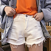 レディース シンプル ストリートファッション ハイライズ ストレート ショーツ パンツ ゼブラプリント