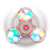 Fidget spinners Hilandero de mano Juguetes Tri-Spinner Spinner LED Juguete del foco Alivia ADD, ADHD, Ansiedad, Autismo Alivio del estrés