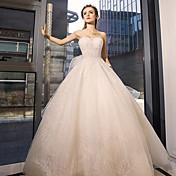 vestido de boda de tul con el cristal por yuanfeishani