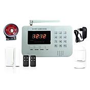 433MHz SMS Móvil Mando a Distancia Teclado de panel 433MHz GSM MÓVIL Alarma de sonido Alarma telefónica Alarma SMSSistemas de alarma para