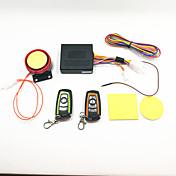 alarma antirrobo de la motocicleta y control remoto a dos colores a prueba de agua