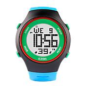 la moda EZON relojes ultra-delgadas para hombre-mujer reloj deportivo digital impermeable de caucho fecha cronómetro alarma del deporte de