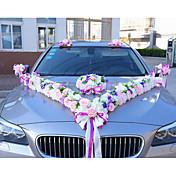 Lujo Poliéster Capullo de la flor Tafetán de Poliéster Material Mixto Cintas de boda - 10 Pedazo / Set Accesorios de Boda Decorar escena