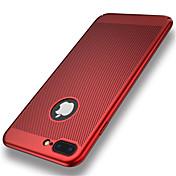 用途 iPhone 8 iPhone 8 Plus ケース カバー 超薄型 バックカバー ケース 純色 ハード PC のために Apple iPhone 8 Plus iPhone 8 iPhone 7プラス iPhone 7 iPhone 6s Plus iPhone 6