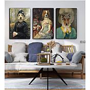 Impresión de lienzo Tres Paneles Lienzos Estampado Decoración de pared For Decoración hogareña