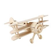 Puzzles 3D Puzzle Maquetas de madera Aeronave De Combate Edificio Famoso Manualidades Madera Clásico Niños Unisex Regalo