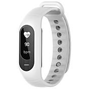 B15P Pulsera Smart iOS AndroidResistente al Agua Calorías Quemadas Podómetros Deportes Monitor de Pulso Cardiaco Pantalla táctil Medición