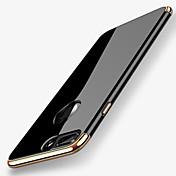 Funda Para Apple iPhone X iPhone 8 Cromado Cubierta Trasera Color sólido Suave TPU para iPhone X iPhone 8 Plus iPhone 8 iPhone 7 Plus