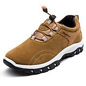 Hombre Zapatillas de Atletismo Confort Goma Primavera Otoño Con Cordón Tacón Plano Negro Gris Amarillo Azul Menos de 2'5 cms