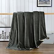 超柔らかい 純色 マイクロファイバー100% 毛布