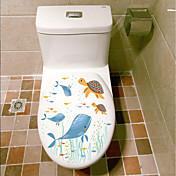 Dyr Sille Liv Former Vægklistermærker 3D mur klistermærker Dekorative Mur Klistermærker Toilet klistermærker Materiale Hjem Dekoration
