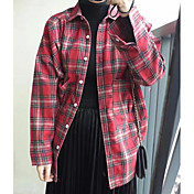 レディース カジュアル/普段着 シャツ,シンプル シャツカラー プリント その他 長袖