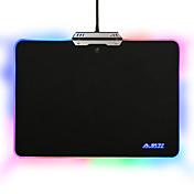 ajazzハードマウスパッドカラフルな9 rgbの照明モードタッチコントロールゲームオフィス