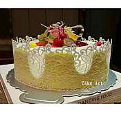 stor silikone blonde blomstermatte prægede kage skimmel sukker craft dekorationsværktøjer