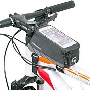自転車用バッグ 自転車用フレームバッグ 反射ストリップ 耐久性 ライトウェイト 自転車用バッグ ナイロン サイクリングバッグ フリーサイズ 携帯電話 サイクリング