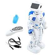 Robot RC Electrónica para niños Infrarrojo Polietileno Disparo Baile Paseo control de sonido Control Remoto Múltiples Funciones