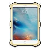 ケースカバーの水/汚れ/ショックプルーフフルボディケースのための無地のハードメタルApple ipad mini 4 ipad mini 3/2/1