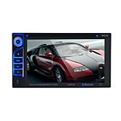 radio de coche audio 2 din 6,2 '' pulgadas lcd pantalla táctil de vídeo multimedia reproductor de dvd bluetooth