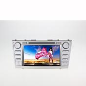 8inch 2 din en el tablero de coches dvd player para toyota camry 2007-2011 con gps, bt, fm, pantalla táctil