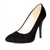Mujer Zapatos Semicuero PU Primavera Otoño Confort Innovador Tacones Tacón Stiletto Dedo Puntiagudo Lunares Para Boda Casual Fiesta y