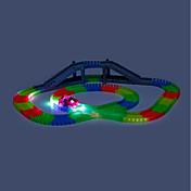 Coches y circuitos de juguete Coche de carreras Trabajos subterráneos - Tajos largos Juguetes Fosforescente LED Noctilucente Manualidades