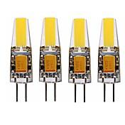4W G4 Bombillas LED de Mazorca T 1 leds LED Integrado Impermeable Decorativa Blanco Cálido Blanco Fresco 3000-3500/6000-6500lm 3000-3500