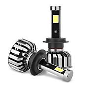 joyshine n7-h7 80w 8000lm ip68 6000k dc9-36v bombillas de linternas del coche (2pcs)