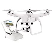 RC Dron JJRC Up Air One 4 Canales 2.4G Con cámara de 12MP HD Quadccótero de radiocontrol  Hacia adelante hacia atrás Cámara Gran Angular