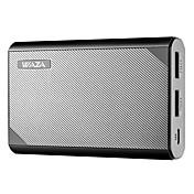 power bank 10000mah dual-usb de alta velocidad carga 5v 3a y salida inteligente el diseño más compacto para iphone, samsung, etc.