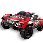 Coche de radiocontrol  HUANQI 727 2.4G Camioneta Off Road Car Alta Velocidad 4WD Drift Car Buggy Todoterreno Brush Eléctrico * KM / H