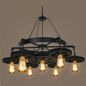 Retro/Vintage Lámparas Colgantes Para Bazares y Cafeterías AC 100-240 AC 110-120V Bombilla no incluida