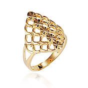 diamantes de imitación con anillo platino plateado estilo femenino clásico