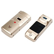 wafuワイヤレススマートな目に見えないリモート指紋認証キーレスセキュリティドアロック433mhzの指紋キーパッド
