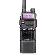 BAOFENG UV-5R Walkie Talkie  Portátil 128 3800mAh 5W Walkie talkie Radio de dos vías
