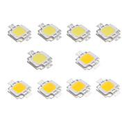 10pcs 12 V para DIY Proyector de luz de inundación LED Chip LED Aluminio