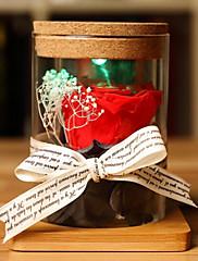 1 ブランチ ドライフラワー バラ テーブルトップフラワー 人工花