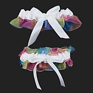 בירית חתונה אורגנזה עם bowknot החתונה accessoriesclassic אלגנטי בסגנון