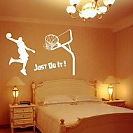 basketbol dekoratif duvar sticker (0565-1105079)
