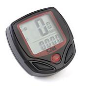 billige Sykkelcomputere og -elektronikk-Digital LCD sykkel hastighetometer odomteter