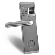 Touch premium biometrisk fingeravtrykk og passord dørlås med deadbolt for venstre og høyre hånd dør